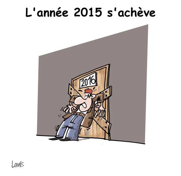 L'année 2015 s'achève - Lounis Le jour d'Algérie - Gagdz.com