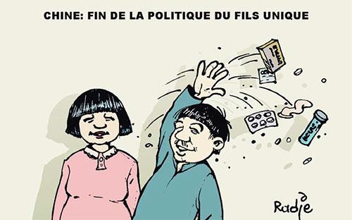 Chine: Fin de la politique du fils unique - Chine - Gagdz.com