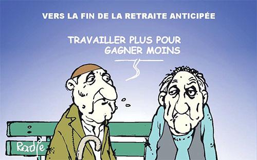 Vers la fin de la retraite anticipée - Ghir Hak - Les Débats - Gagdz.com