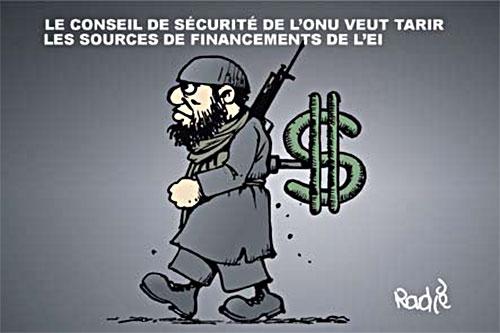 Le conseil de sécurité de l'onu veut tarir les sources de financements de l'ei - sécurité - Gagdz.com