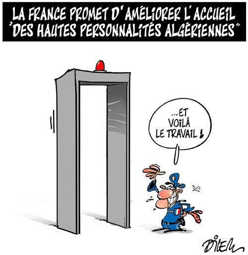 La France promet d'améliorer l'accueil des hautes personnalités algériennes - personnalités - Gagdz.com