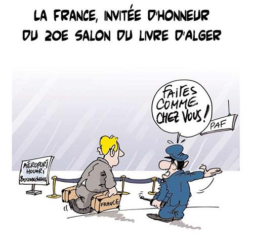 La France, invitée d'honneur du 20e salon du livre d'Alger - Lounis Le jour d'Algérie - Gagdz.com