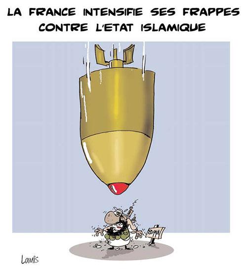 La France intensifie ses frappes contre l'état islamique - Lounis Le jour d'Algérie - Gagdz.com