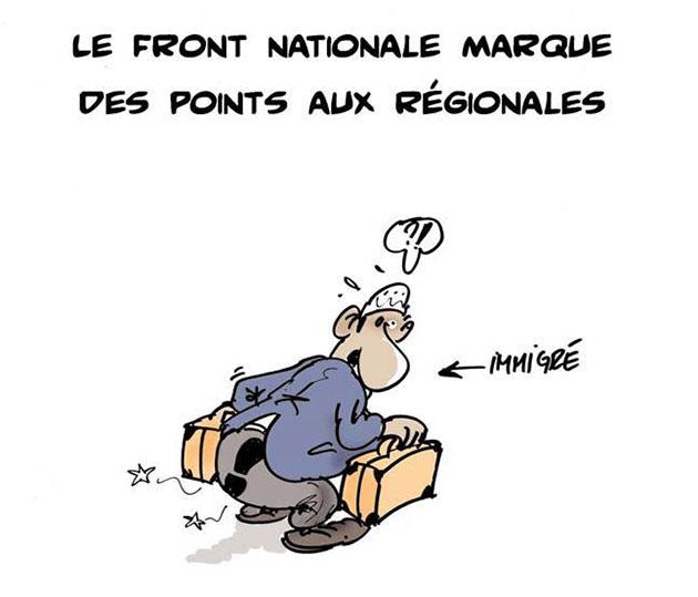 Le front nationale marque des points aux régionales - front - Gagdz.com