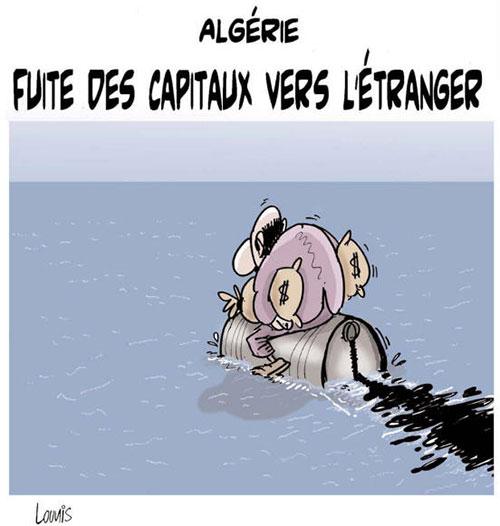 Algérie: Fuite des capitaux vers l'étranger - Lounis Le jour d'Algérie - Gagdz.com