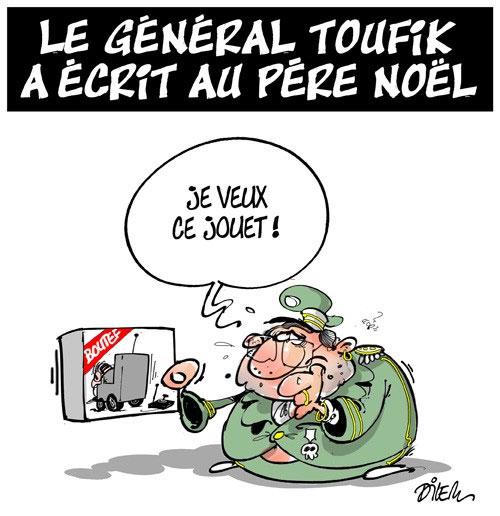 Le général Toufik a écrit au père noël - Dilem - Liberté - Gagdz.com