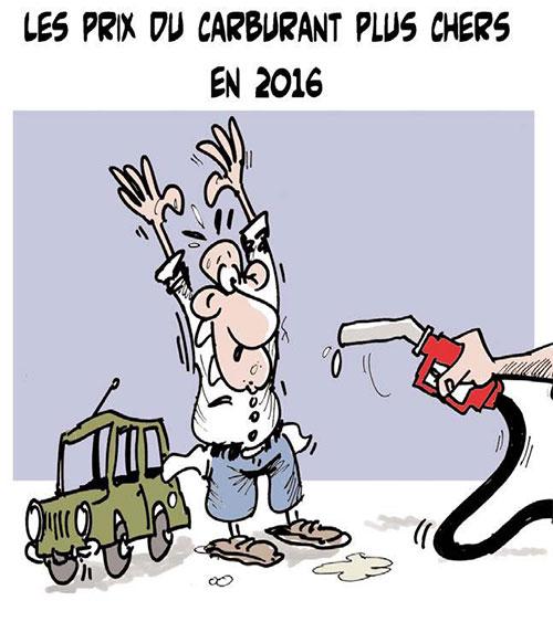 Les prix du carburant plus cher en 2016 - Lounis Le jour d'Algérie - Gagdz.com