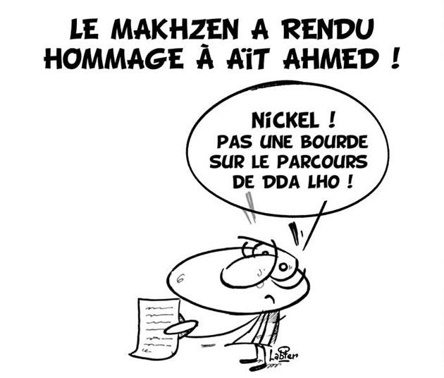 Le makhzen a rendu hommage à Aït Ahmed - Vitamine - Le Soir d'Algérie - Gagdz.com