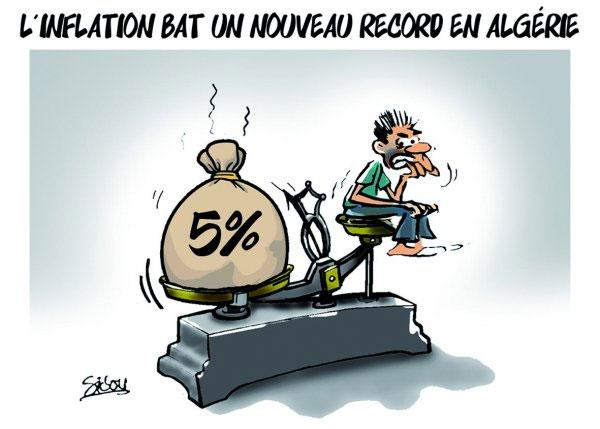 L'inflation bat un nouveau record en Algérie - Sidou - Gagdz.com