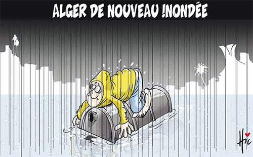 Alger de nouveau inondée - Le Hic - El Watan - Gagdz.com