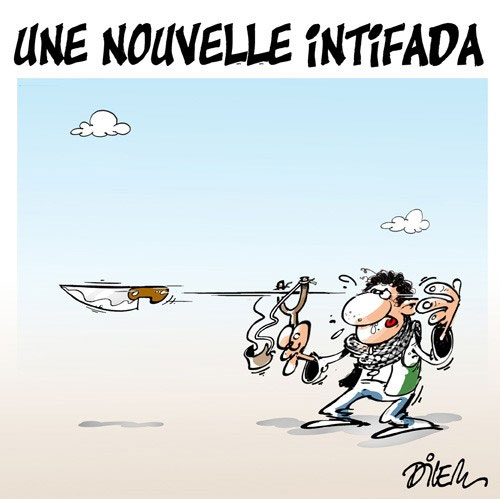 Une nouvelle intifada - Dilem - Liberté - Gagdz.com