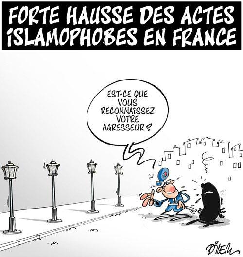 Forte hausse des actes islamophobes en France