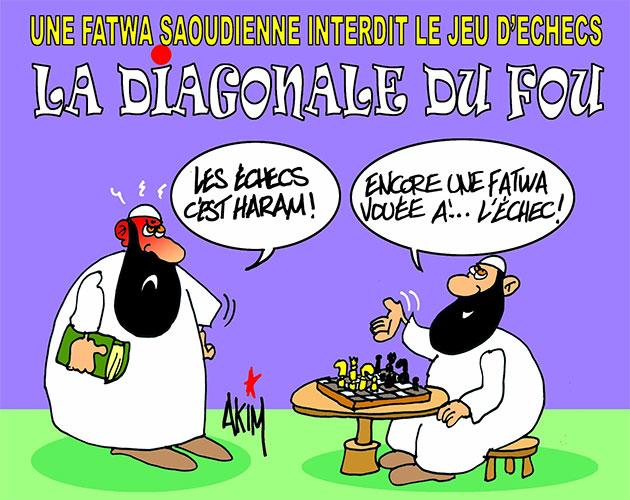 Une fetwa saoudienne interdit le jeu d'echecs