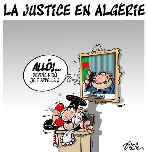 La justice algérienne - Dilem - Liberté - Gagdz.com