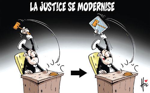 La justice se modernise - Le Hic - El Watan - Gagdz.com