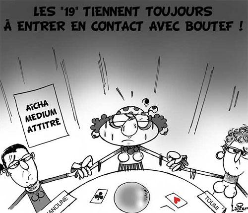 Les 19 tiennent toujours à entrer en contact avec Bouteflika - Vitamine - Le Soir d'Algérie - Gagdz.com