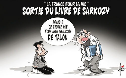 La France pour la vie: Sortie du livre de Sarkozy
