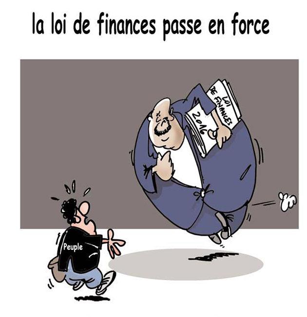 La loi de finances passe en force - Lounis Le jour d'Algérie - Gagdz.com