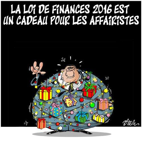 La loi de finances 2016 est un cadeau pour les affairistes - Dilem - Liberté - Gagdz.com