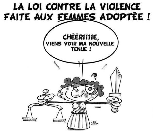 La loi contre la violence faite aux femmes adoptée - Vitamine - Le Soir d'Algérie - Gagdz.com