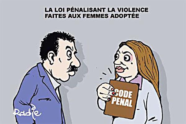 La loi pénalisant la violence faites aux femmes adoptée - Ghir Hak - Les Débats - Gagdz.com