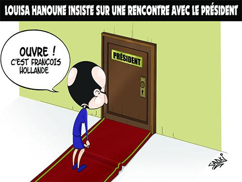 Louisa Hanoune insiste sye une rencontre avec le président - Hanoune - Gagdz.com