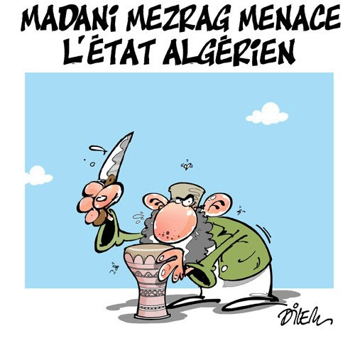 Madani Mezrag menace l'état algérien - menace - Gagdz.com