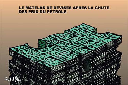 Le matelas de devises après la chute des prix du pétrole - Ghir Hak - Les Débats - Gagdz.com