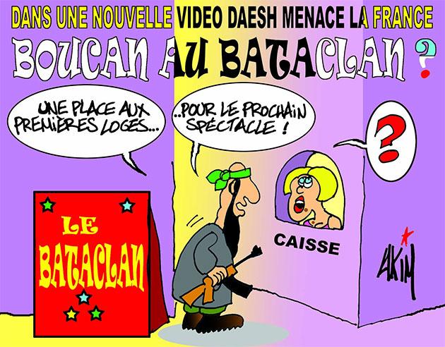 Danus une nouvelle vidéo daesh menace la France