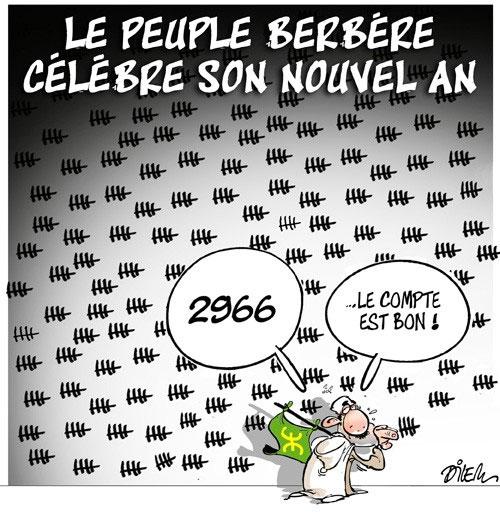 Le peuple berbère célèbre son nouvel an - Dilem - Liberté - Gagdz.com