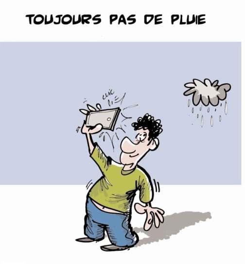 Toujours pas de pluie - Lounis Le jour d'Algérie - Gagdz.com