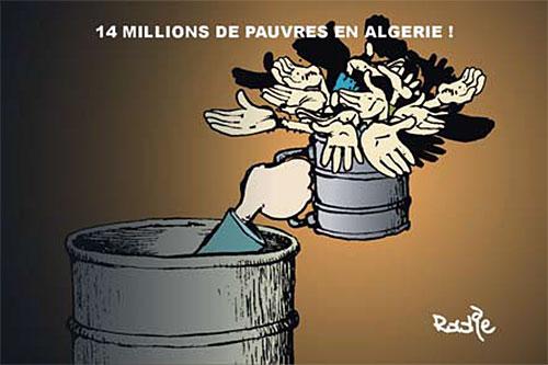 14 millions de pauvres en Algérie - Ghir Hak - Les Débats - Gagdz.com