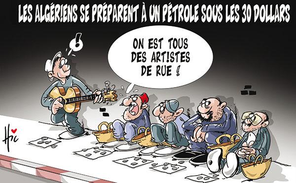 Les Algériens se préparent à un pétrole sous les 30 dollars