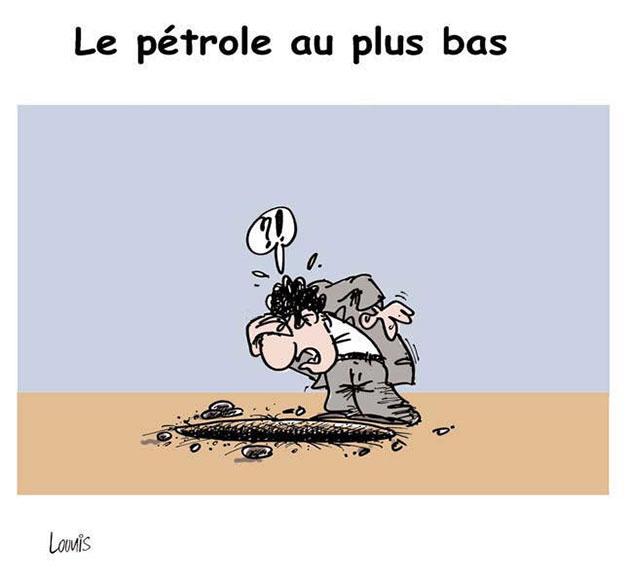 Le pétrole au plus bas - Lounis Le jour d'Algérie - Gagdz.com