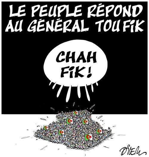 Le peuple répond au général Toufik - Dilem - Liberté - Gagdz.com