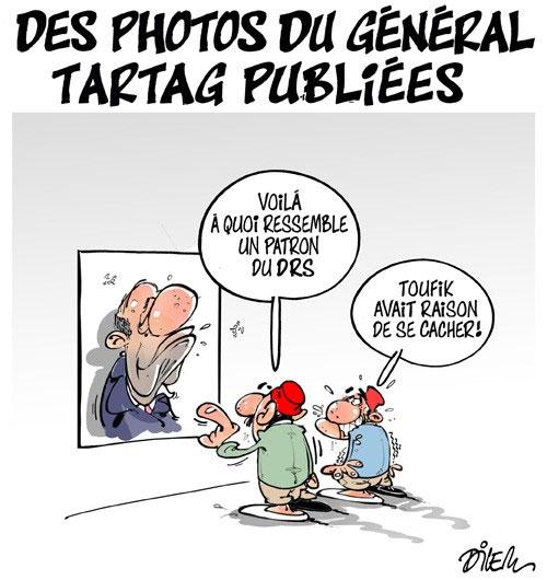 Des photos du général tartag publiées - Dilem - Liberté - Gagdz.com