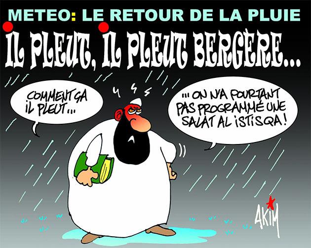 Météo: Le retour de la pluie - Akim - L'echo d'Algérie - Gagdz.com