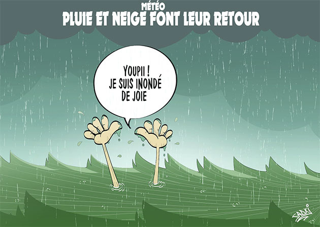 Météo: Pluie et neige font leur retour - Sadki - Le provincial - Gagdz.com