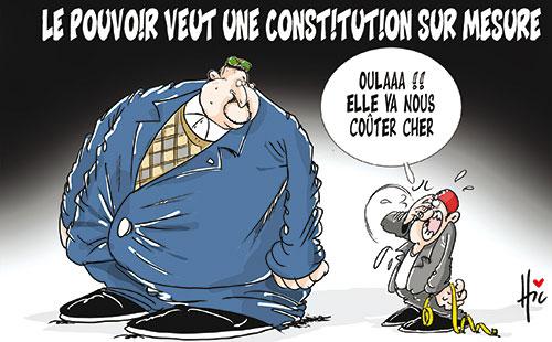 Le pouvoir veut une constitution sur mesure - Le Hic - El Watan - Gagdz.com