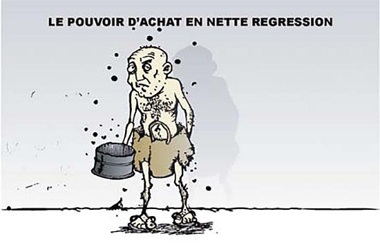 Le pouvoir d'achat en nette régression - Ghir Hak - Les Débats - Gagdz.com