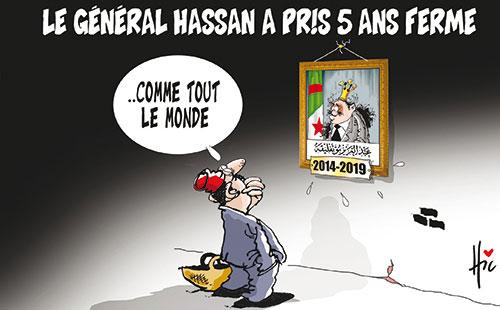 Le général Hassan a pris 5 ans ferme - Le Hic - El Watan - Gagdz.com