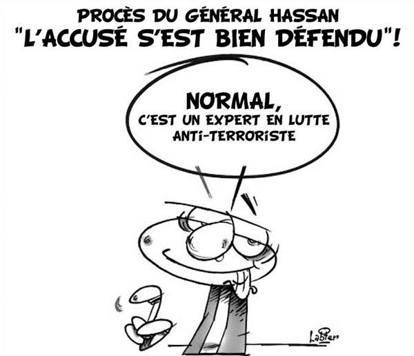 Procès du général Hassan: L'accusé s'est très bien défendu - procès - Gagdz.com