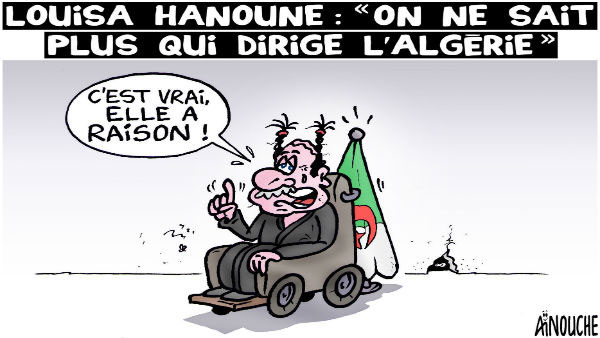 Louisa Hanoune: On ne sait plus qui dirige l'Algérie - Hanoune - Gagdz.com