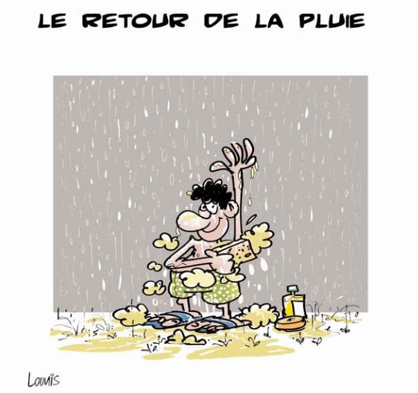 Le retour de la pluie - Lounis Le jour d'Algérie - Gagdz.com