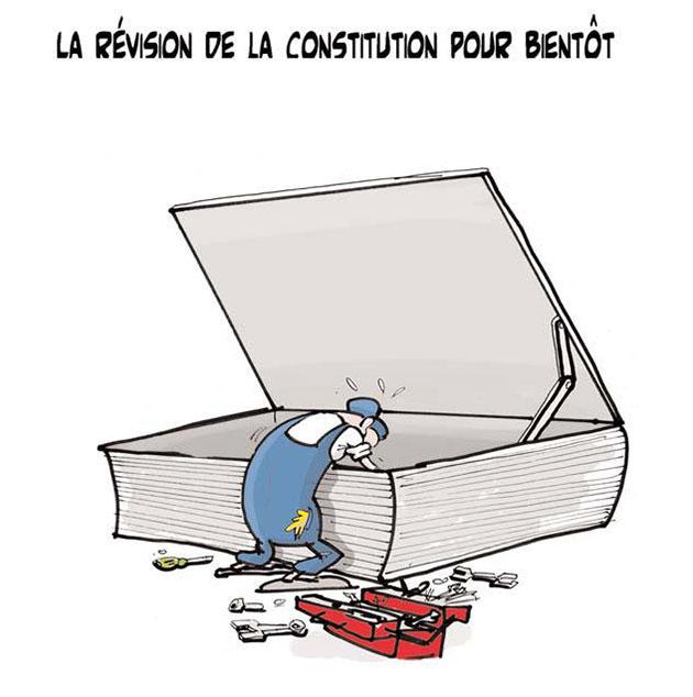 La révision de la constitution pour bientôt - Lounis Le jour d'Algérie - Gagdz.com