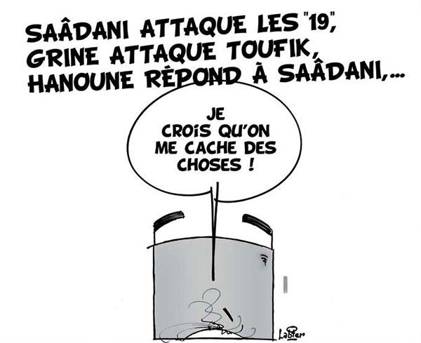 Saâdani attaque les 19, Grine attaque Toufik, Hanoune répond à Saâdani - Hanoune - Gagdz.com