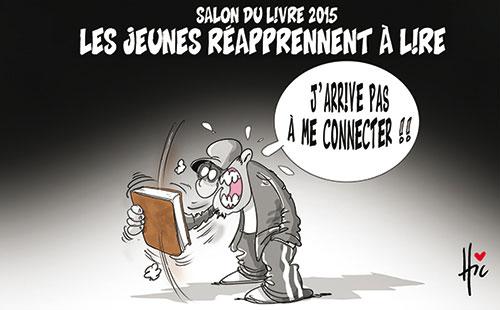 Salon du livre 2015: Les jeunes réapprennet à lire - Jeunes - Gagdz.com