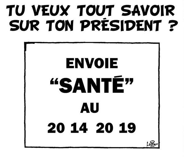 En Algérie, même l'état de santé du président est offshore - Dessins et Caricatures, Vitamine - Le Soir d'Algérie - Gagdz.com