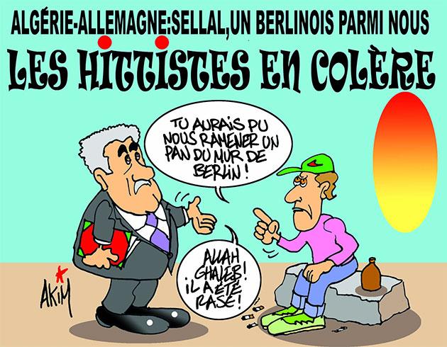 Algérie-Allemagne: Sellal, un berlinois parmi nous - Les hitistes en colère - Akim - L'echo d'Algérie - Gagdz.com