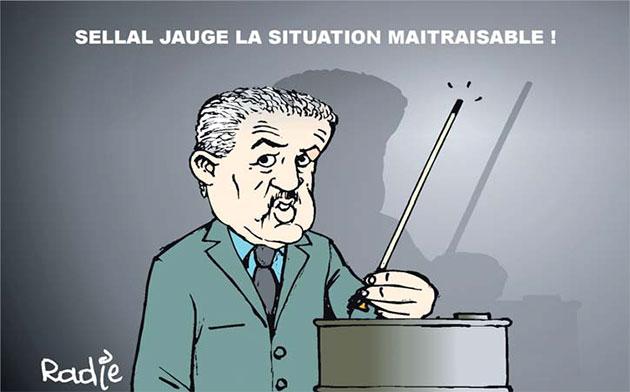 Sellal jauge la situation maitrisable - Ghir Hak - Les Débats - Gagdz.com